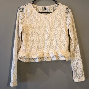 H&M Divided Lace Blouse